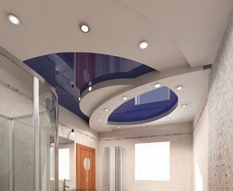 Многоуровневые натяжные потолки в компании «Маника»